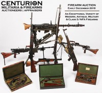 Firearm Auction - Modern, Military, Antique & Class 3 Machine Guns
