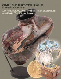 ABSOLUTE ONLINE ESTATE SALE AUCTION - Jewelry, Art, Coins, Collectibles, Hobby