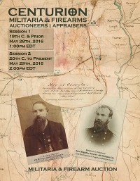 Militaria & Firearm Auction | Civil War, Indian Wars, Spanish American War | 19th C. & Prior