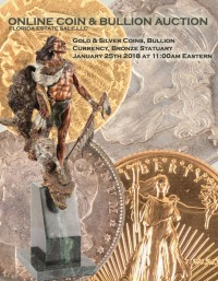 ABSOLUTE ONLINE COIN, BULLION, CURRENCY, BRONZE STATUARY, FURNITURE AUCTION