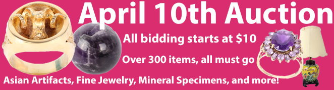 April 10th Auction Banner