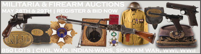 MILITARIA FIREARM BANNER FES MAY 28 29 2016