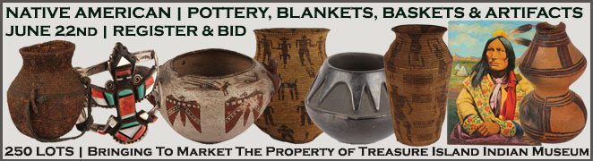NATIVE AMERICAN COLLECTIBLES AUCTION JUNE 2016 MANOR