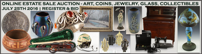 ESTATE SALE ONLINE AUCTION JULY 25 2016