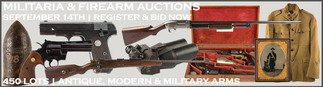 FIREARM MILITARY AUCTION BANNER FES SEPTEMBER 2016
