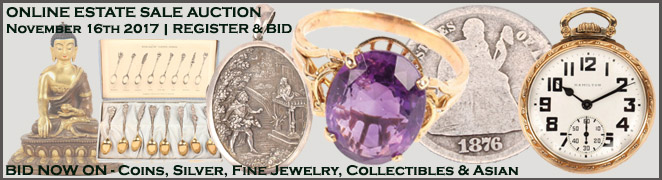 Online Florida Estate Sale Fine Jewelry Sterling Silver Coins Chinese Arts Collectibles November 16 2017
