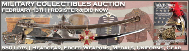 MILITARY COLLECTIBLES AUCTION BANNER FES FEBRUARY 2017