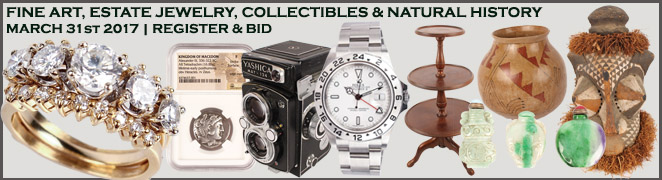 Online Fine Art Jewelry Collectible Auction March 2017