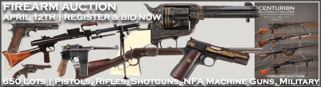 Firearm Auction Collection Pistols Shotguns Rifles Machine Gun FES April 2017