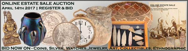 Online Florida Estate Sale Collectibles Art Jewelry Coins Natural History April 14 2017
