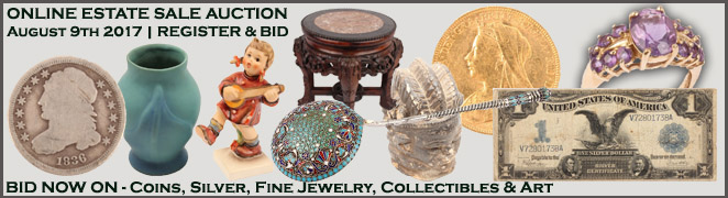 Online Florida Estate Sale Fine Jewelry Sterling Silver Art Hobby Collectibles August 9 2017