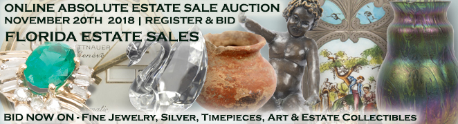 Buy Sell Estate Sale Auction Fine Jewelry Gemstones Sterling Silver Art Asian Estate Collectibles November 20 2018