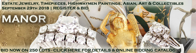 Diamond Jewelry Watches Florida Highwaymen Paintings Collectibles Auction Sept 2018